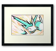 Shiny Latios | Luster Purge Framed Print