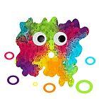 Cute Monster by JessDesignsxx