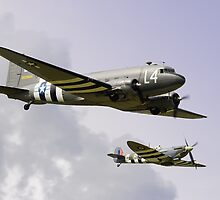 D Day Escort - Dunsfold 2014 by Colin J Williams Photography