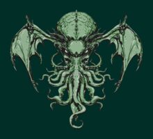 Cthulhu-Sumi (colour version) by MJ Hiblen