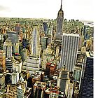 A smooth view of New York by Carlos Megino