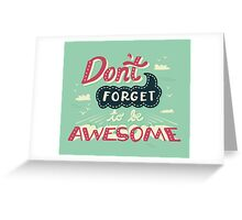 DFTBA Greeting Card