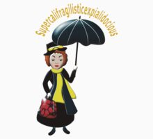 Mary Poppins T-shirt Kids Clothes