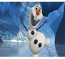 Olaf from Frozen Photographic Print