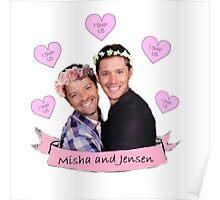 Misha and Jensen Poster