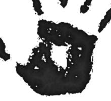 "Skyrim: Dark-brotherhood ""we know"" T-shirt Sticker"