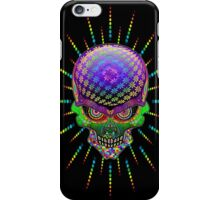 Crazy Skull Psychedelic Explosion iPhone Case/Skin
