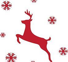 Christmas, Jumper, Reindeer by Nicnak85
