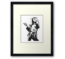 Robert Plant Led Zeppelin Framed Print