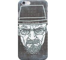 Walter White ( Heisenberg ) iPhone Case/Skin