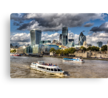 The River Thames Canvas Print