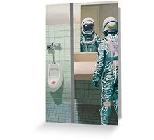 The Men's Room Greeting Card