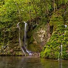 Gütersteiner Waterfall, Bad Urach by Mark Bangert
