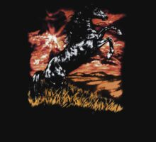 Charlie Always Sunny Horse T-shirt by jimmy-rage