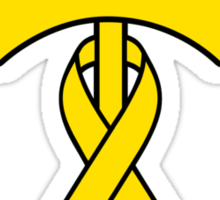Umbrella Revolution 2014 Yellow Ribbon Movement Sticker
