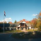 Ricketts Glen State Park Visitor Center by Gene Walls