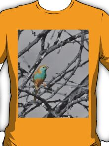 Blue Waxbill - Selective Beauty from Nature T-Shirt