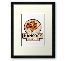 Hancock Gasoline Framed Print