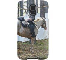 Hard Working Horses Samsung Galaxy Case/Skin