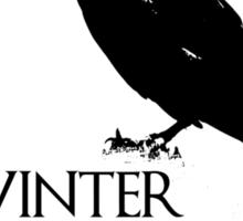 Winter is Here ( Night's Watch )  Sticker