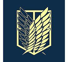 Attack On Titan: Scout Regiment (Blue) Photographic Print