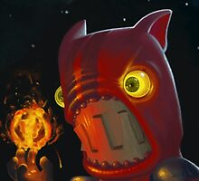 Fire Demon (Castle Crashers) by Jake Briggs