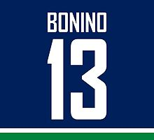 Vancouver Canucks Nick Bonino Jersey Back Phone Case by Russ Jericho
