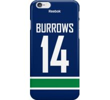 Vancouver Canucks Alex Burrows Jersey Back Phone Case iPhone Case/Skin