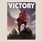 TF2 - Victory Poster/shirt by thijn