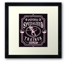 Psychic Specialized Trainer Framed Print