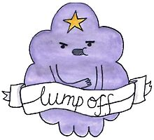 LUMPY SPACE PRINCESS ADVENTURE TIME LUMP OFF LSP by jasminelangley