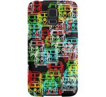 Multi Colour Campervan Samsung Galaxy Case/Skin