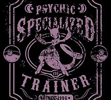 Psychic Specialized Trainer II by tiranocyrus