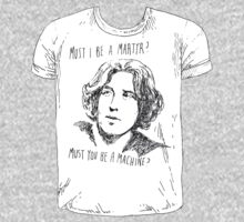 Oscar Wilde t-shirt tee by Jeremyblog