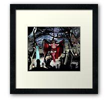 VAMPIRE DREAMS Framed Print