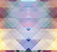 Abstract Geometric Spectrum 2 Sticker