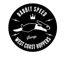 Rabbit Speed George One sticker (right) by Mistersid