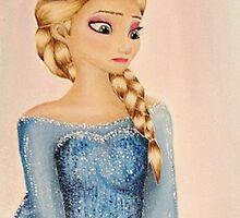 Elsa   Frozen  by AlwaysRoseArt