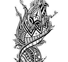 JUKA Phoenix Feather by jukaartist