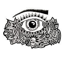 JUKA Tangled Eye by jukaartist