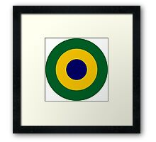 Brazilian Navy Aviation Roundel  Framed Print