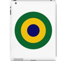 Brazilian Navy Aviation Roundel  iPad Case/Skin