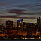 Nighttime in Chicago by Karen Stevens