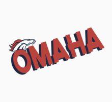 Omaha Broncos Orange Denver Crush  Shirt, Sticker, Cases, Cards, Pillows by 8675309