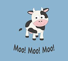 Moo! Moo! Moo! by Eggtooth