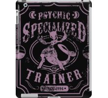 Psychic Specialized Trainer II iPad Case/Skin