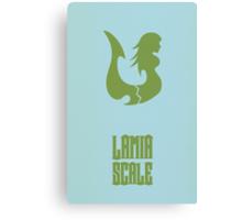 Lamia Scale Canvas Print