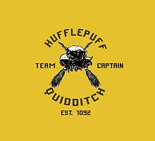 Hufflepuff Quidditch Team Captain by Aja Lyonfields