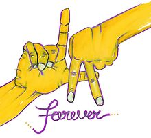 Lakers Forever by nbatextile