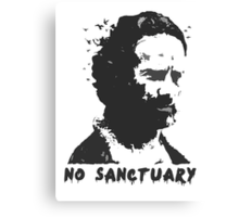No Sanctuary Canvas Print